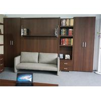 Buy cheap European Style Space Saving Murphy Wall Sofa Folding Bed With Bookshelf from Wholesalers