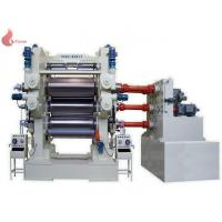 China Ø 230mm - 910mm 4 Roll rubber calendering machine For Sheet And Fabric Making on sale