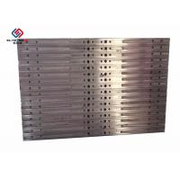 Quality Laminating Industries Aluminum Hot Press Plates Steam Heating for sale