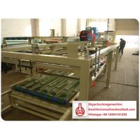 Quality Hollow Sandwich Fiber Cement Wall Panel Forming Machine 4 - 25mm Thickness for sale