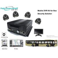 4ch 720P AHD HDD Bus DVR System for Driver Monitoring GPS/3G/4G/WIFI Optional
