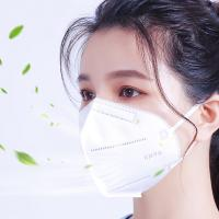 Buy cheap Non Woven Kn95 Breathing Mask / Breathable Foldable Face Mask Anti Dust from wholesalers