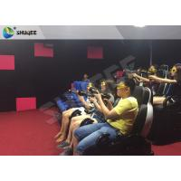 Quality Ingenious Simulating Game 7D Movie Theater For Theme park / Exhibition Hall for sale
