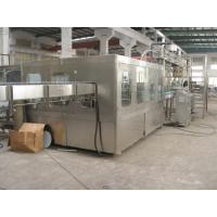 China Multi Head 15000 BPH Bottled Automatic Water Filling Machine With Screw Plastic Cap on sale