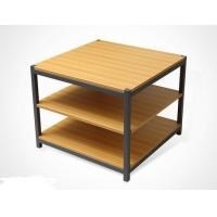 Quality Disassembly Shop Wooden Retail Display Shelves With Melamine / Wood Steel Promotion Desk for sale