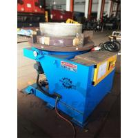 Quality 2000 Kg Carring Rotary Welding Positioner 1100mm Table Slotted 300mm Gravity for sale