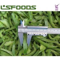 Quality new crop frozen sweet green pepper strips for sale