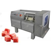 Quality Commercial Use Meat Processing Machine , Meat Dicing Machine Automatic Operation for sale