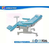 Quality Three Section Hospital Medical Dialysis Chair / Blood Donor Chair for sale