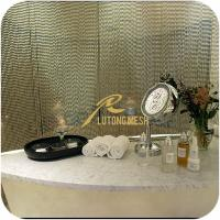 Quality Metal ball chain saloon room curtain for sale