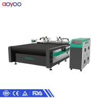 China automatic suit Multilayer fabric garment paper pattern cutting machine on sale