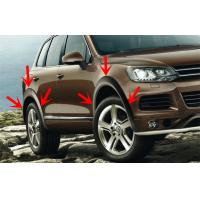 Quality Volkswagen Touareg Wheel Molding Fender Trim , OEM Style Wide Wheel Arches for sale