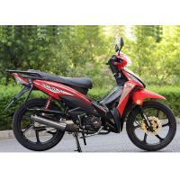 Quality 110CC Super Cub Motorcycle , Underbone Motorcycle With Big Rear Carrier for sale