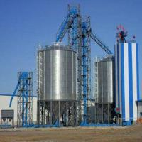 Quality Flat-bottom Steel Silo, Simple Structure, Large Capacity, Various Ways of Unloading, Easy to Install for sale