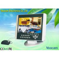 Quality 10' 4CH Economical LCD CCTV Monitors with 38KHz IR Remote Control  for sale