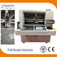 China 220V 4.2KW PCB Router Depanelizer With Double Working Tables 113*140*108cm on sale