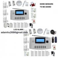 Quality LCD Security Alarm System|WIRELESS and WIRE ALARM COMPATIABLE|HOME ALARM|FIRE ALARM|INTRUDER ALARM|INTRUSION ALARM|GSM ALARM|AUTO-DIAL ALARM for sale