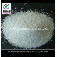 China SGS Approved White Fused Alumina , Aluminum Oxide Crystals For Brake And Friction Linings on sale