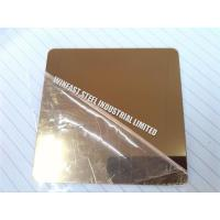 Quality Hairline Finish Cold Rolled Stainless Steel Sheet Decorative ASTM Standard for sale