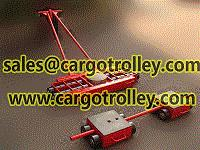 Quality Steerable machinery moving skates for sale