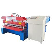 Quality Wall And Roof Panel Roll Forming Machine For Coil Width 1219mm , High Speed for sale