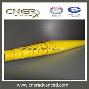 Quality Insulated fiberglass telescopic pole 47 feet for glass washing, long reach rescue pole, fibreglass warning pole for sale