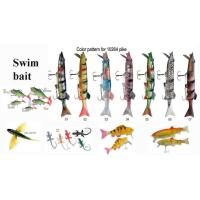 Quality Fishing lures softgel Swim bait for sale