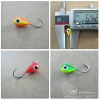 China colorful tungsten  jighead for ice fishing on sale