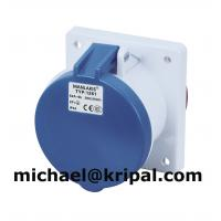 Quality IP44 power socket outlet straight for sale