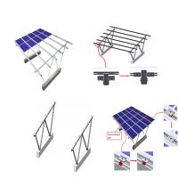 China Waterproof Design TOP VIP 0.1 dollar Support System Solar Power Parking Lot Residential Solar Panel Carport Systems on sale