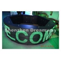 China WIFI control 360° Round led message board , led message display Waterproof Cabinet on sale