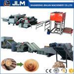 Quality shandong jinlun 4 8 feet veneer rotary cutting machine plywood production line-veneer peeling lathe for sale