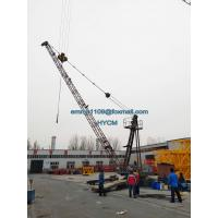 Quality D3015 Derrick Tower Crane 30mts Luffing Jib 1.5tons Tip Load FOB Price for sale