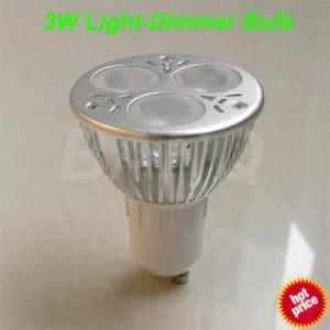 Quality Gu 10 3w LED Dimmer Bulb (BQ-LAT-GU10-3W1-D) for sale