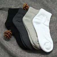 Quality Fashion Design Thicken Terry Cotton Sport Socks For Men for sale