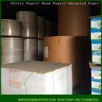 Quality Virgin brown semi-extensible sack kraft paper for sale