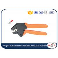 Quality Ratchet Crimping Pliers Plier For Inuslated Female Terminals 24-14 AWG for sale