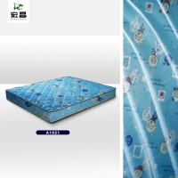 Quality blue 43D Jacquard Knitted Fabric for sale