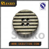 Quality custom metal  buttons  with 4holes buttons  garment accessories for shirts for sale