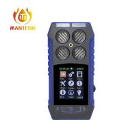 Quality High Reliability Portable Combustible Gas Detector , Gas Leak Detector CO / O2 / CH4 / H2S for sale