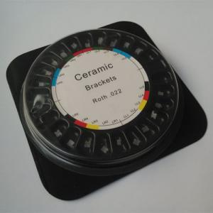 Quality Roth 022 Slot Ceramic Dental Braces 3 4 5 Hooks Type For Orthodontic Treatment for sale