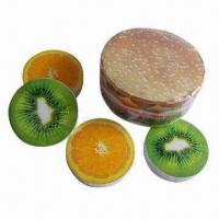 Quality Compressed towel, round shape compressed towel, fruit shape for sale