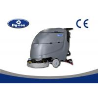 Quality Black Color Hard Surface Floor Scrubber Washing Machine Walk Behind Heavy Duty for sale