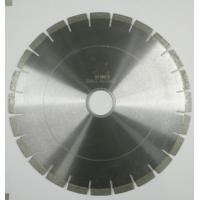 Quality Fast Cutting Speed Durable Diamond Saw Blades For Cutting Granite / Marble for sale