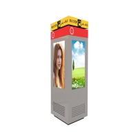 Quality FCC ROHS LCD Floor Standing Advertising Display Digital Machine for sale