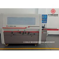 Quality High Efficiency 4 Head Planer Moulder for producing high volume laminated finger-joint board for sale