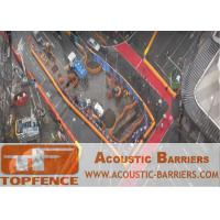 Quality Temporary Sound Barriers Fencing for Construction Site Reduction of Noise to Protect Worker Health for sale