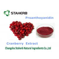 Quality Cranberry Extract Organic / Natural Antioxidant Supplement Violet Fine Powder for sale