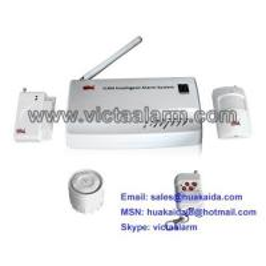 China GSM Burglar Alarm System with Zone ID Display on sale