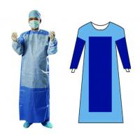 Quality Ultrasonic Welding Medical Surgical Gowns 40gsm EO Sterilized For Doctors for sale